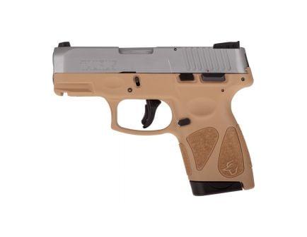 Taurus G2S Compact 9mm Pistol, Tan - 1-G2S939T