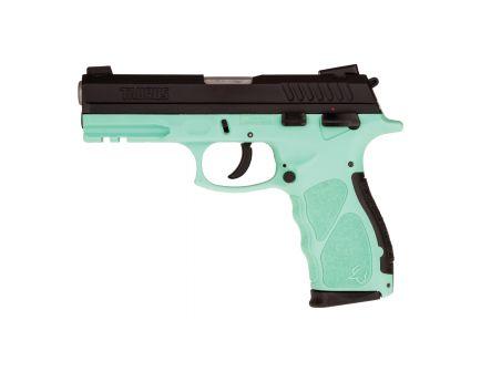 Taurus TH9 Full 9mm Pistol, Cyan/Black - 1-TH9041C