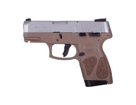 Taurus G2S Compact 9mm Pistol, Brown - 1-G2S939B