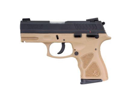 Taurus TH9C Compact 9mm Pistol, FDE - 1-TH9C031T