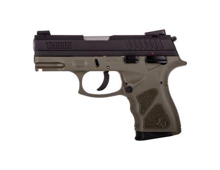 Taurus TH9C Compact 9mm Pistol, OD Green - 1-TH9C031O