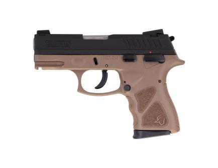Taurus TH9C Compact 9mm Pistol, Black/Brown - 1-TH9C031B