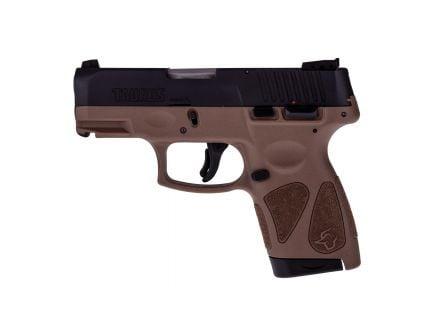 Taurus G2S Compact 9mm Pistol, Brown - 1-G2S931B