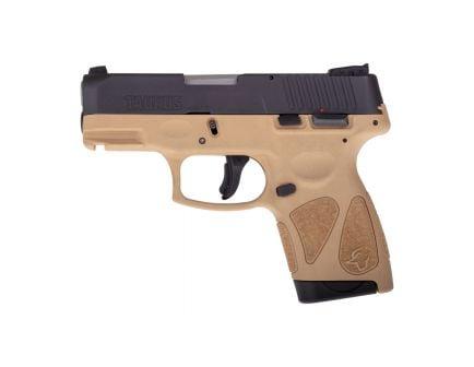 Taurus G2S Compact 9mm Pistol, Tan - 1-G2S931T
