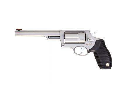 Taurus Judge Compact .45 Colt/410 Gauge Revolver, Matte Stainless Steel - 2-441069T-ENG1