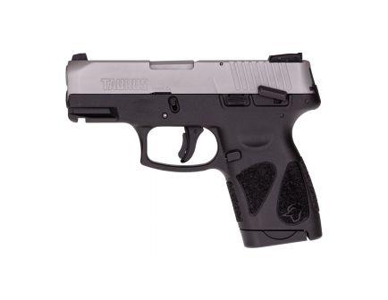 Taurus G2S Compact 9mm Pistol, Blk - 1-G2S939VL