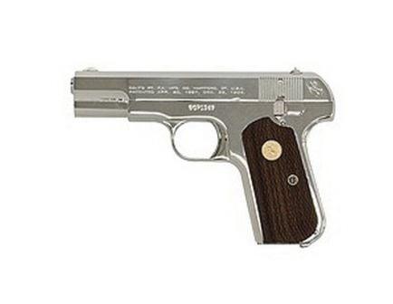 Colt Hammerless 1903 General Officer's (Re-Issue) .32 ACP Pistol, Bright Nickel - 1903N