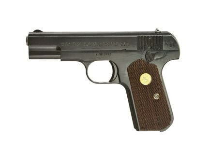 Colt Hammerless 1903 General Officer's (Re-Issue) .32 ACP Pistol, Royal Blue - 1903RB