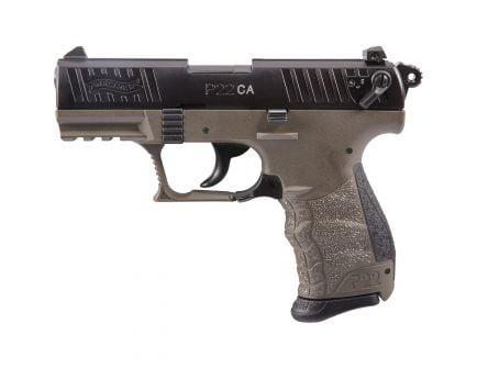 "Walther P22 CA 5"" .22lr Pistol, FDE - 5120363"