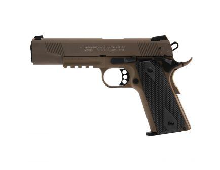 Walther Colt Government 1911 Rail Gun .22lr Pistol, FDE - 5170310