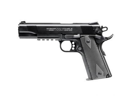 Walther Colt Government 1911 Rail Gun .22lr Pistol, Blk - 5170308