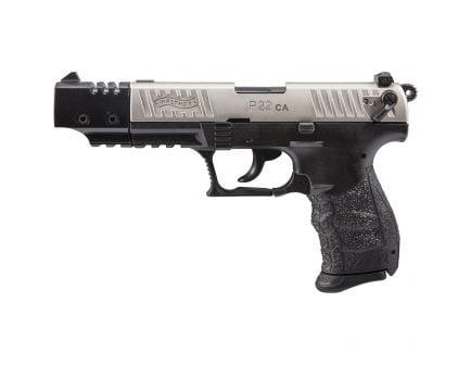 Walther P22 CA .22lr Pistol, Target Nickel - 5120337