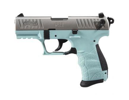 Walther P22 Q .22lr Pistol, Angel Blue - 5120760