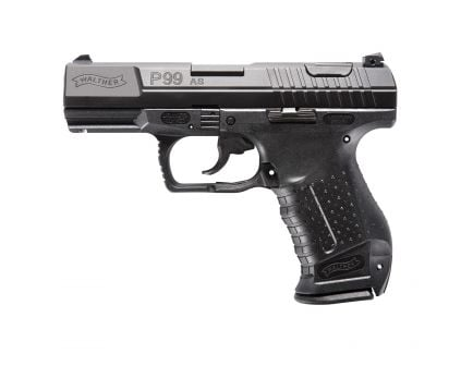 Walther P99 AS 9mm Pistol, Blk - 2796326