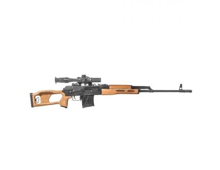 Century Arms PSL 54 7.62x54mmR Semi-Automatic Rifle w/ 4x24mm Scope, Brown - RI3324-N