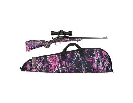 Keystone Sporting Arms Crickett/Hydrodipped Synthetic .22lr Bolt Action Rifle, Muddy Girl - KSA2160BSC
