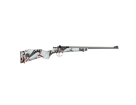 Keystone Sporting Arms Crickett/Hydrodipped Synthetic .22lr Bolt Action Rifle, One Nation - KSA3169