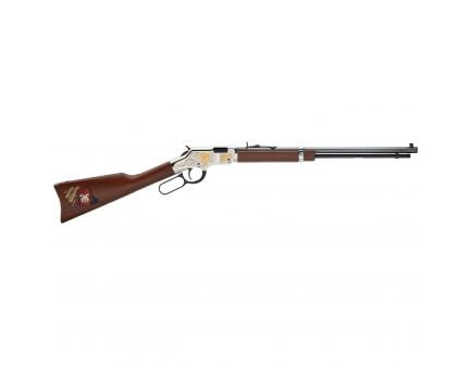Henry Shriner International Tribute Edition .22 S/l/lr Lever Action Rifle, Brown - H004SHR