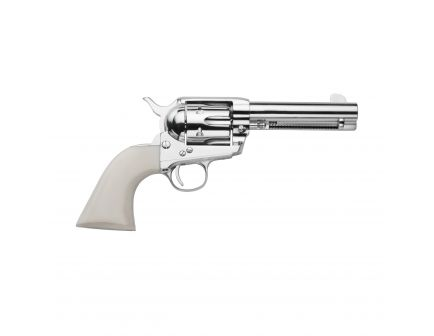 Traditions Frontier 1873 Standard .45 LC Revolver, Nickel - SAT73-131