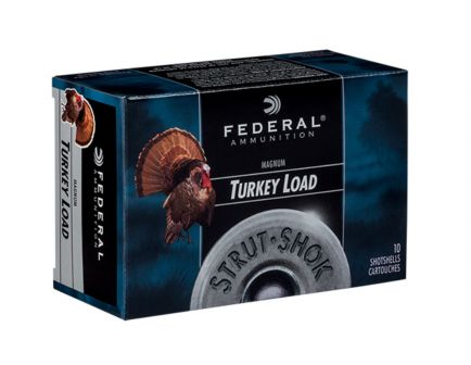 "Federal 12ga 3"" 4DE 2oz #6 Strut-Shok Magnum Lead Turkey Shotshells 10rds - FT158F 6"