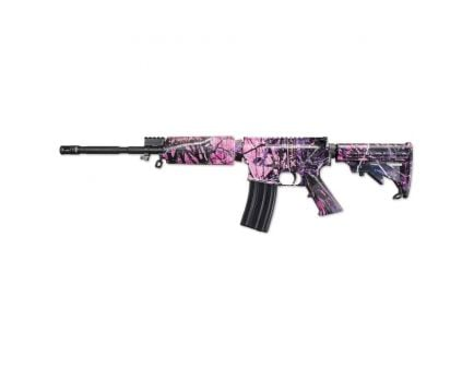 Windham Weaponry SRC .223 Rem/5.56 Semi-Automatic AR-15 Rifle, Muddy Girl Camo - R16M4FTT-C4