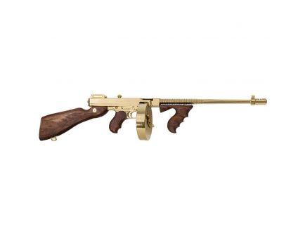 Auto Ordnance 1927A-1 Deluxe .45 ACP Semi-Automatic Carbine, Brown - T150DTG