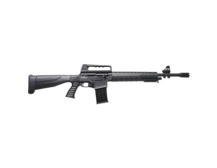 "Iver Johnson Arms 20"" 12 Gauge Shotgun 3"" Semi-Automatic, Blk - STRYKER"