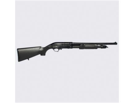 """Iver Johnson Arms 18.5"""" 12 Gauge Shotgun 3"""" Pump Action, Blk - PAS12"""
