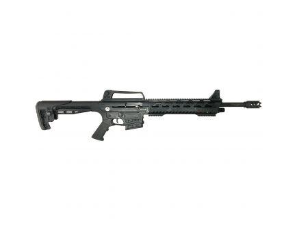 "T R Imports Silver Eagle SE122 Tactical 18.5"" 12 Gauge Shotgun 3"" Semi-Automatic, Matte Black - SE122TAC"