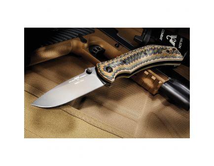 "Wilson Combat Extreme Lite Carry Drop Point Folding Knife, 3.5"", Multi-Camo - WTK-ELC-MCG10"