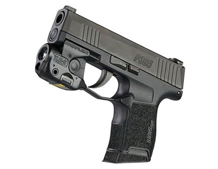 Streamlight TLR-6 100 lm C4 LED Water-Resistant Tactical Weapon Light w/ White LED for Glock 26/27/33 Pistols, Black - 69282