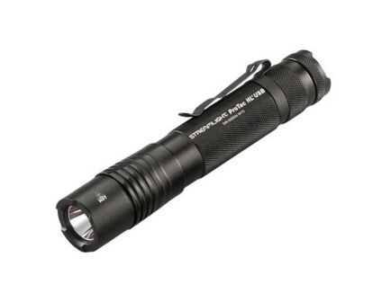 Streamlight ProTac HL 1000/380/65 lm C4 LED High Lumen USB Rechargeable Water-Resistant Tactical Flashlight, Black - 88054