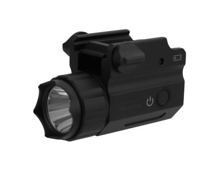 Tacfire 360 lm Compact Sized Flashlight, Black - FLP360-C