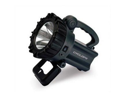 Cyclops 850/280 lm Cree XML Rechargeable Spotlight, Black/Gray - CYC-10W