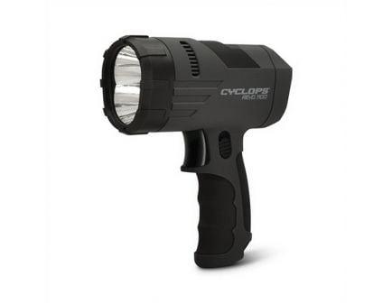Cyclops ReVO 1100 lm (2) Hi-Power Luxeon LED Handheld Rechargeable Spotlight, Gray - CYCX11100H