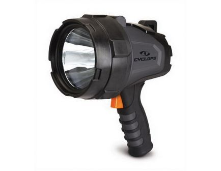 Cyclops 580 lm LED Handheld Rechargeable Spotlight, Black/Gray - CYC-580HHS