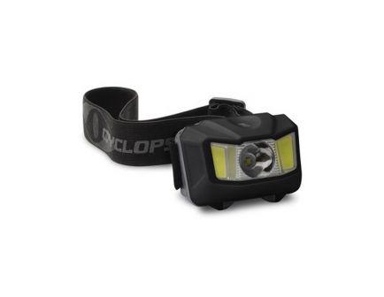Cyclops 250 lm Cree XPG LED Conductive Touch Headlamp, Black - CYC-HL250