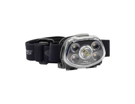 Cyclops Force XP 350/15/3.2/5.5 lm Cree XTE S3 LED Water-Resistant Headlamp, Black - CYC-HLFXP