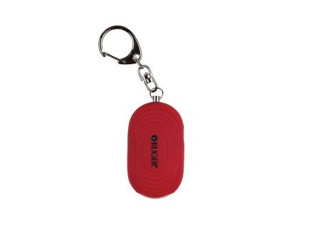 Sabre Ruger Personal Alarm w/ LED Light and Snap Hook - RUPA02
