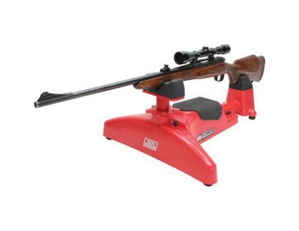 MTM Case Gard Predator Adjustable Feet Shooting Rest, Red - PSR30