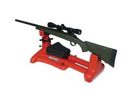 MTM Case Gard K-Zone Adjustable Feet Shooting Rest, Red - KSR30