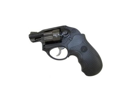Pachmayr Diamond Pro Grip w/ Finger Grooves for Ruger LCR Revolver, Black - 02482