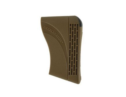 Pachmayr Decelerator Magnum Rubber Slip-On Recoil Pad, Large, Brown - 4416
