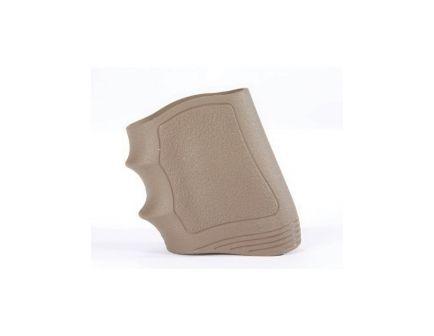 Pachmayr Gripper Universal Slip-On Grip w/ Finger Grooves for Glock 19/23/25/32/38, Beretta 92/96 Pistols, Flat Dark Earth - 05126