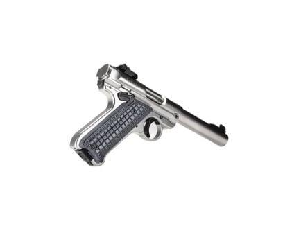 Pachmayr G10 Tactical Grappler Grip Panel for Ruger Mark IV Pistol, Black/Gray - 61075
