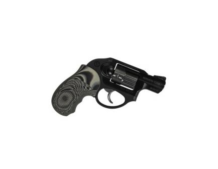 Pachmayr G10 Tactical Grip for Ruger LCR Revolver, Black/Gray - 61232