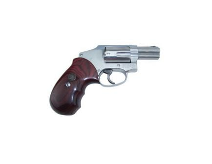 Pachmayr Renegade Smooth Grip for S&W J Frame Round Butt Revolver, Rosewood - 63010