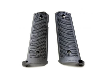 ProMag Grip Panel w/ Mag-Well Funnel for 1911 Pistol, Black - AA108