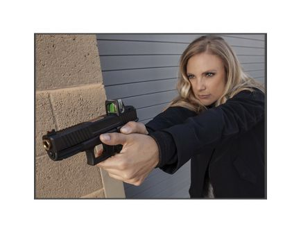 EZR Sport Handgun Gauntlet for Smith & Wesson M&P Compact Pistol, Black - 10650