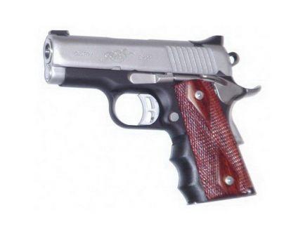 Pearce Grip Finger Groove Grip Insert for 1911 Compact Pistol, Black - PG-OM1